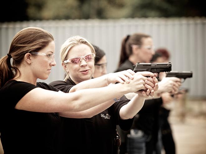 Ladies-Only Firearms Training Classes, firearms training, firearms training class, ladies-only gun training, handgun training