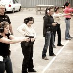 Ladies-Only Firearms Training Classes, firearms training, firearms training class, ladies-only gun training, sig sauer academy