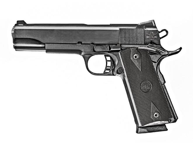 1911, 1911 pistol, 1911 pistols, 1911-style pistols, 1911 gun, 1911 handgun, Rock Island Armory 1911 GI ROCK Standard FS