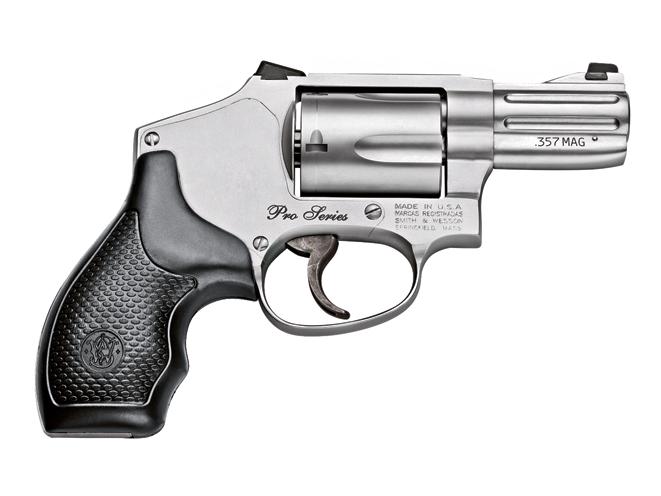 smith wesson pro series, revolver, revolvers, concealed carry handguns, concealed carry handguns buyer's guide, concealed carry revolver, concealed carry revolvers