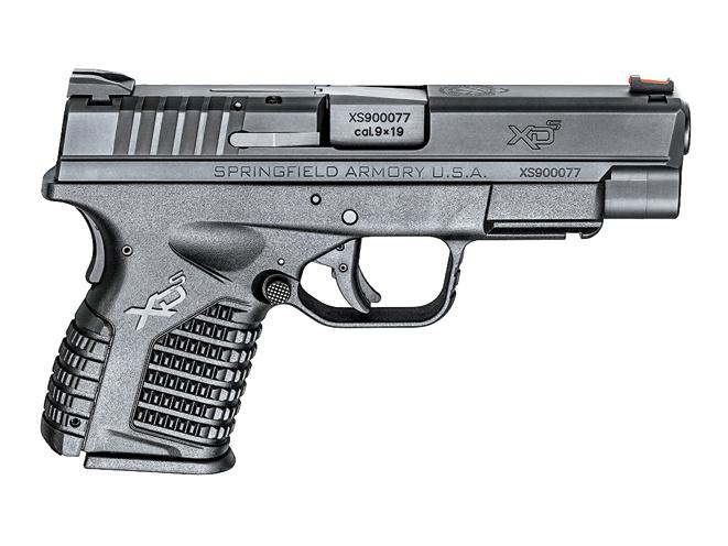 autopistols, autopistol, pistol, pistols, springfield XD-S