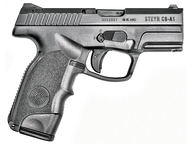 autopistols, autopistol, pistol, pistols, steyr c9-a1
