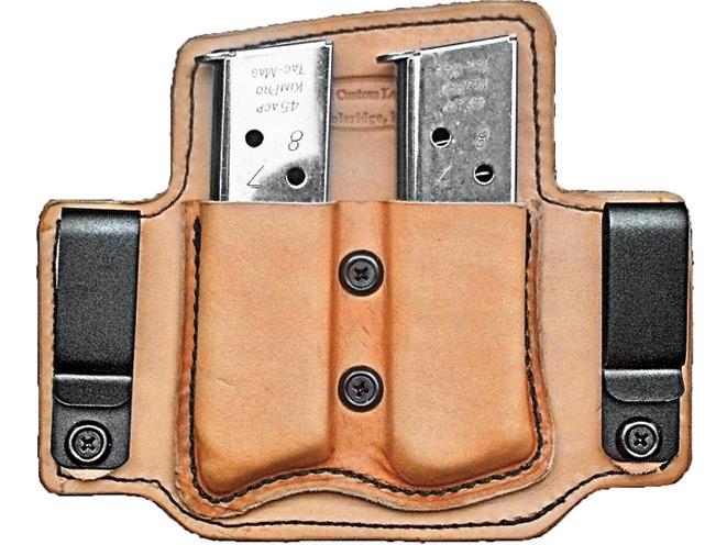 combat handguns, combat handguns products, combat handguns june 2015, MTR Double IWB Mag Carrier