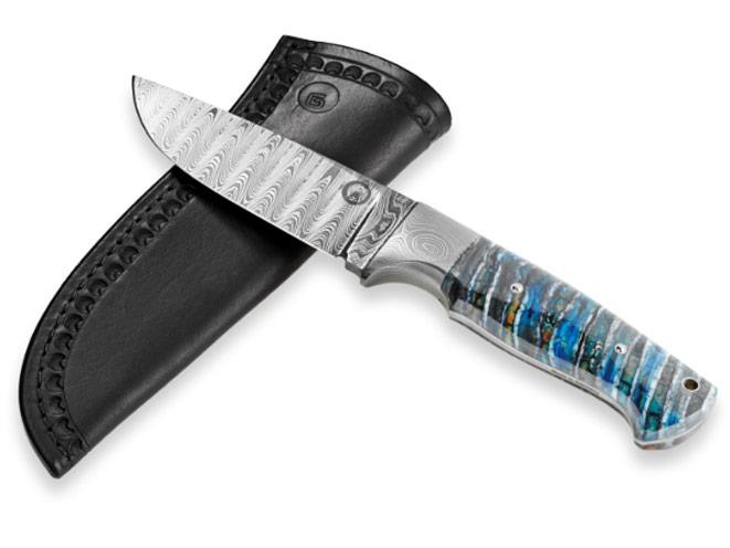 dave sevigny, gaston j. glock style lp, dave sevigny barrels, dave sevigny knife barrel, GLOCK® 35 .40 CALIBER BALBACH DAMASCUS KNIFE