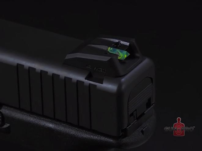 Gun Pro Delta 1 Sights, delta 1 sights, gun pro, gun pro sights, gun pro delta 1 sight, rear