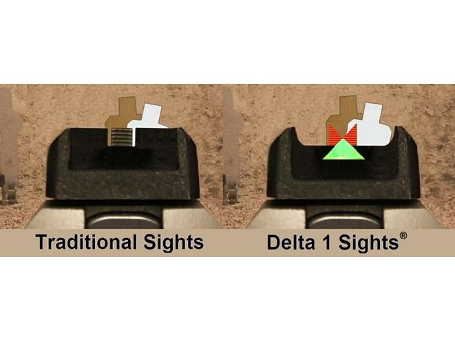 Gun Pro Delta 1 Sights, delta 1 sights, gun pro, gun pro sights, gun pro delta 1 sight, traditional gun sight