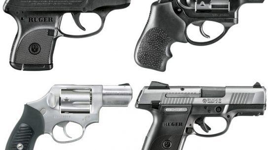 6 Ruger Pistols & Revolvers, ruger, pistols, ruger pistols, ruger revolvers, ruger revolver, rugers