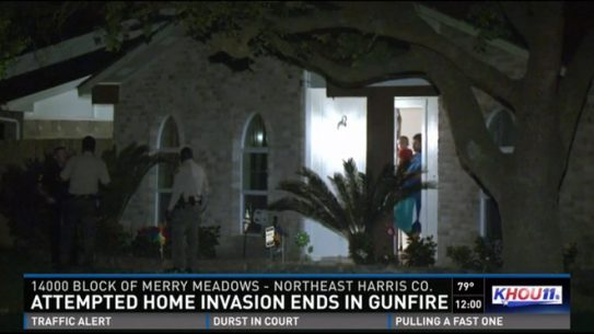 Texas Home Invasion, armed burglars