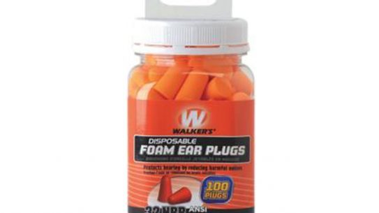 walker's game ear, walker's game ear foam ear plugs, walker's game ear 100-count jar