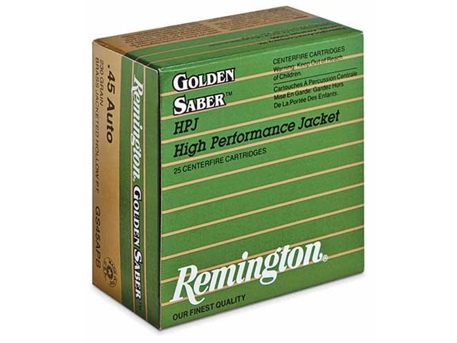 self-defense ammo, self-defense ammunition, ammo, ammunition, remington golden saber