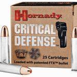 self-defense ammo, self-defense ammunition, ammo, ammunition, hornady critical defense
