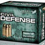 self-defense ammo, self-defense ammunition, ammo, ammunition, liberty ammunition civil defense