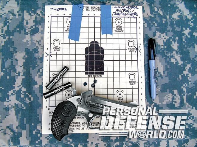 Bond Arms, bond arms derringer, bond arms defender, bond arms defender target ammo