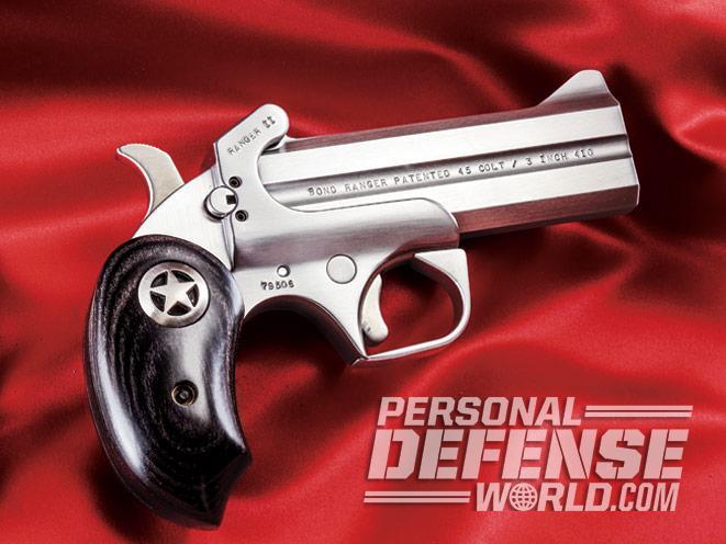 Bond Arms, bond arms derringer, bond arms defender, bond arms defender profile