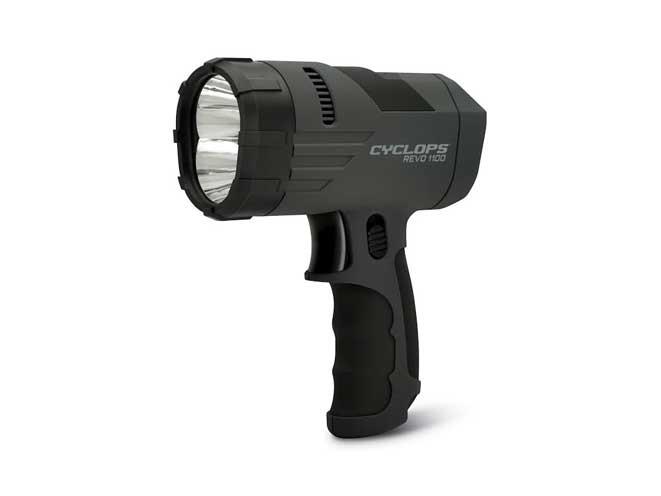 Cyclops REVO 1100 Lumen Hand Held Rechargeable Spotlight, Cyclops REVO 1100, REVO 1100