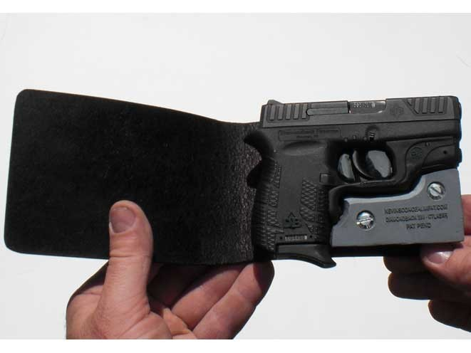 kevin's concealment holsters, kevin's concealment, kevin's concealment wallet holster, wallet holster, kevin's concealment wallet holster pistol