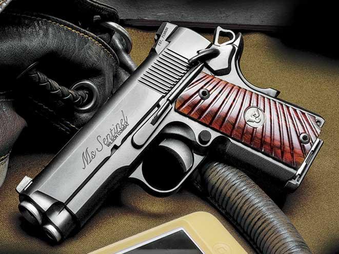 wilson combat, wilson combat 1911, 1911, 1911 pistols, 1911 gun, Wilson combat ms. sentinel