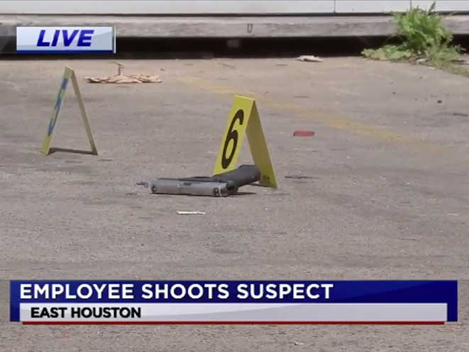 Houston Store Employee Shoots Armed Robbery, concealed carry, concealed carrier, concealed carry houston