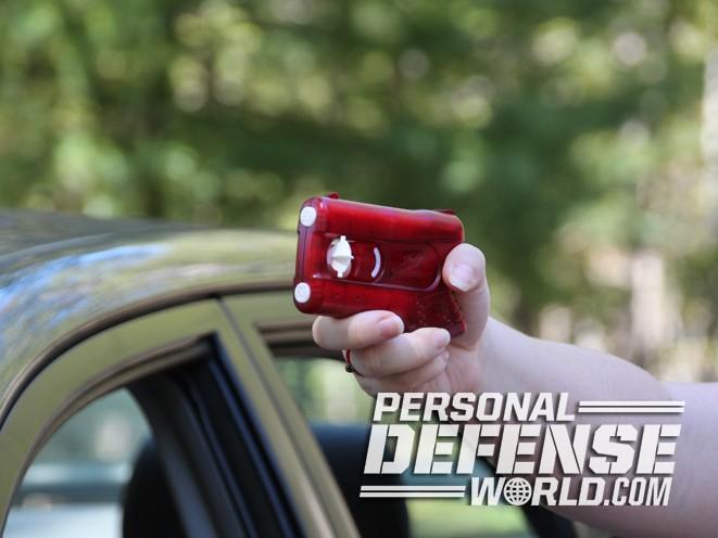 Kimber PepperBlaster II, kimber, pepperblaster II, kimber america, pepperblaster II spray, pepperblasterII pointing
