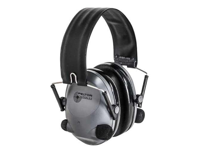 ear, earmuffs, hearing protectors, earplugs, 3m pelter tactical 6S and Tactical 100