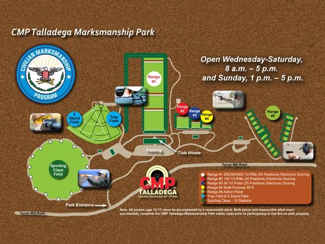 Talladega Marksmanship Park, civilian marksmanship program