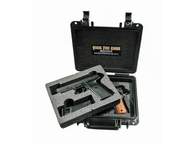 gun case, gun cases, gun safe, gun safes, pistol gun case, pistol case, Quick Fire MultiFit 2 Pistol Case