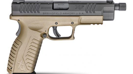"Springfield Armory 4.5"" XD(M) Threaded Barrel Pistol, Threaded barrel pistol, 4.5"" XD(M), 4.5"" XD(M) threaded barrel, 4.5"" XD(M) threaded barrel pistol"
