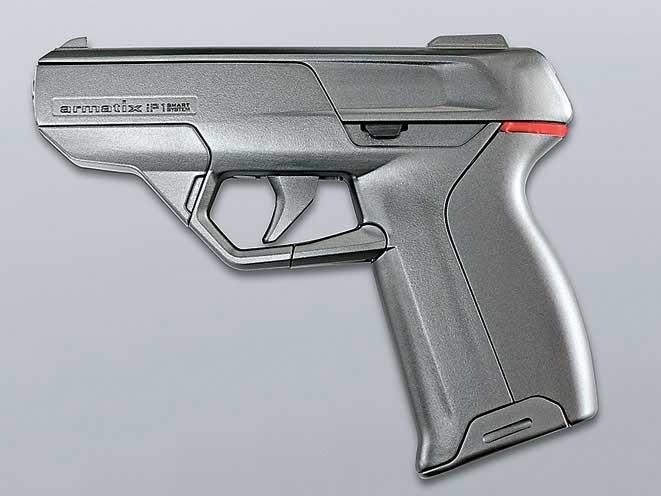 smart gun, smart guns, smart gun technology, smart guns technology, Armatix iP1 pistol, Armatix iP1