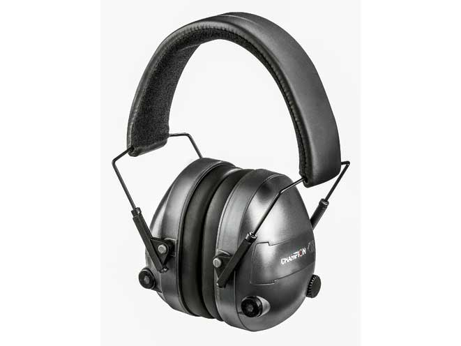 ear, earmuffs, hearing protectors, earplugs, champion electronic earmuffs