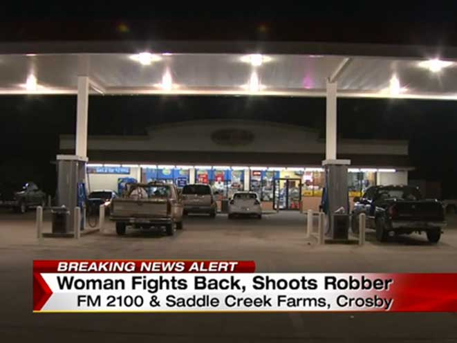 concealed carrier, armed robbery, houston armed robbery