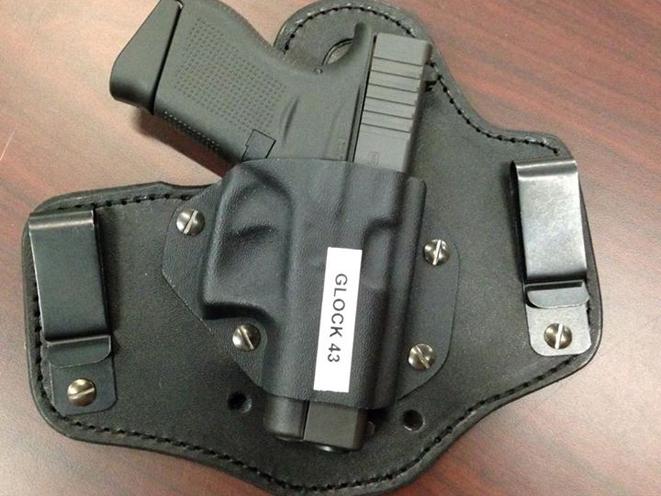 kinetic concealment, glock 43, glock, glock 43 holster, glock 43 holsters