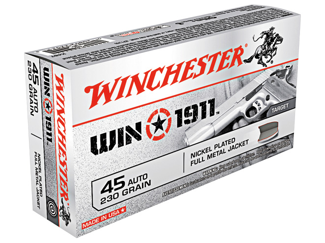 combat handguns, combat handguns august 2015, combat handguns new products, winchester win1911 ammo