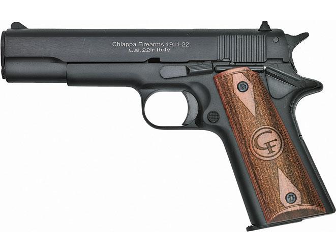 rimfire, rimfires, rimfire guns, rimfire gun, rimfire handguns, rimfire handgun, chiappa 1911-22 standard