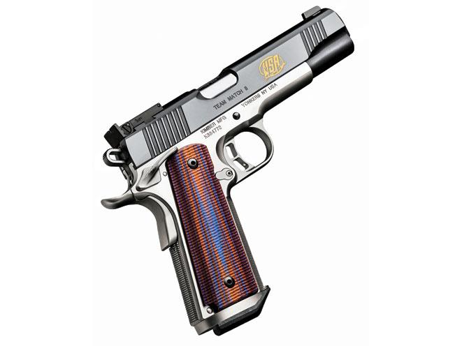 1911, 1911 pistol, 1911 pistols, 1911 gun, 1911 guns, 1911 competition shooting, 1911 competitive shooting, 1911 competition gun, Kimber Team Match II