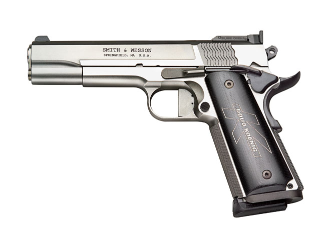 doug koenig, doug koenig shooter, doug koenig competitive shooter, doug koenig competitive shooter, doug koenig range bag, Smith & Wesson Model SW1911DK