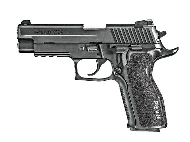 rimfire, rimfires, rimfire guns, rimfire gun, rimfire handguns, rimfire handgun, sig sauer p226 classic