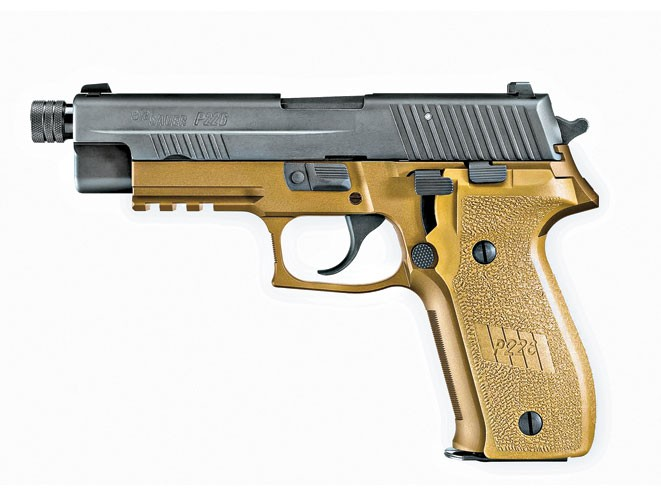 threaded barrel, threaded barrel pistol, threaded barrel pistols, sig sauer p226 combat tb
