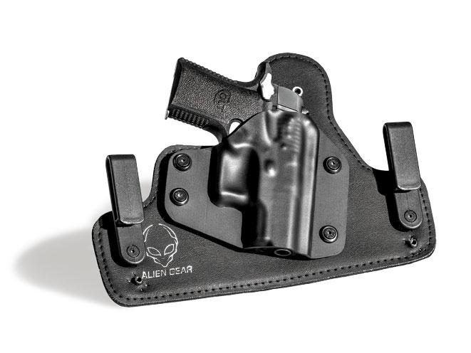 glock, glock 43, glock 43 holsters, glock 43 holster, glock 43 accessories, alien gear cloak tuck 2.0