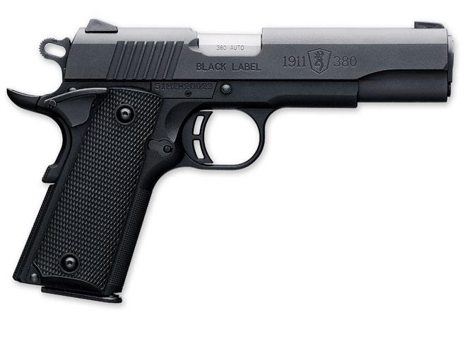 browning, browning black label, browning black label 1911-380, black label 1911-380, browning handgun