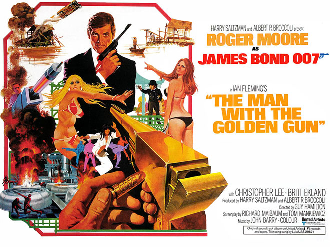 the man with the golden gun, golden gun, the golden gun, james bond golden gun, bond golden gun, golden gun movie poster