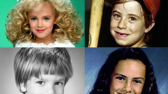 missing children, murdered children, missing child, missing person, etan patz, polly klaas, adam walsh, jonbenet ramsey