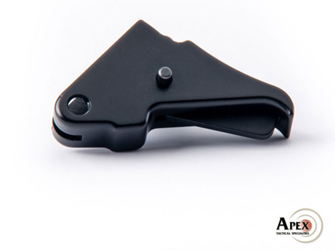 apex, apex tactical specialties, flat-faced trigger, flat-faced trigger apex, flat-faced trigger smith & wesson m&p shield