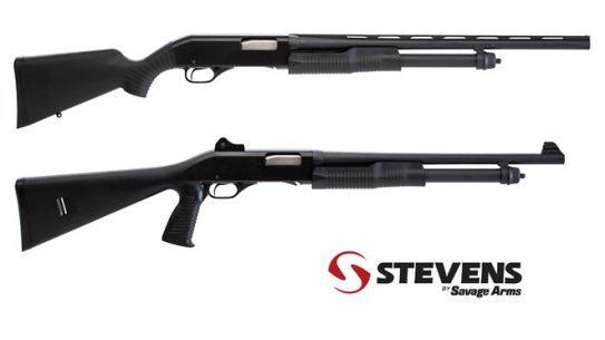 20-Gauge Pump Shotguns, SAVAGE ARMS, SAVAGE ARMS SHOTGUNS, STEVENS SAVAGE ARMS