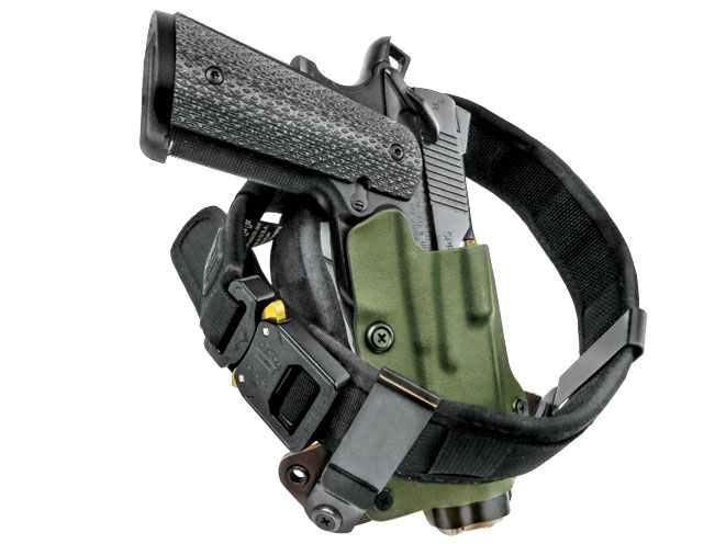 BlackPoint Tactical Mini Wing holster and TUFF EZ-Feed Ranger belt.