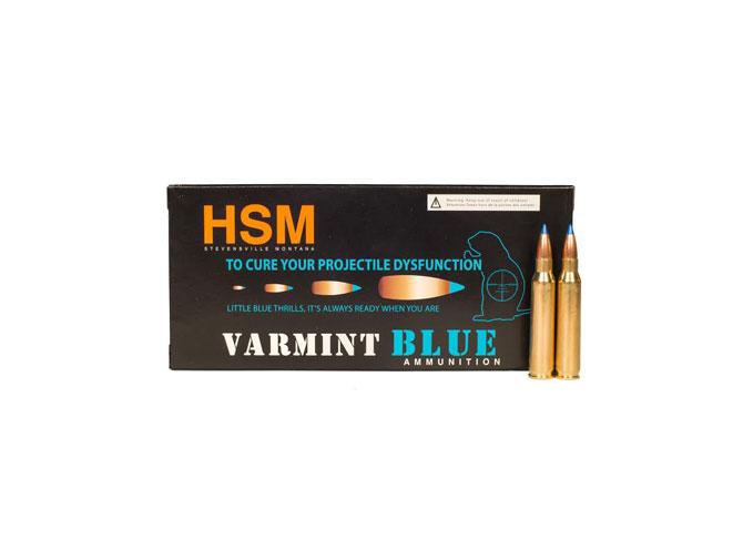 HSM Varmint Blue, HSM Ammunition, HSM, Varmint Blue