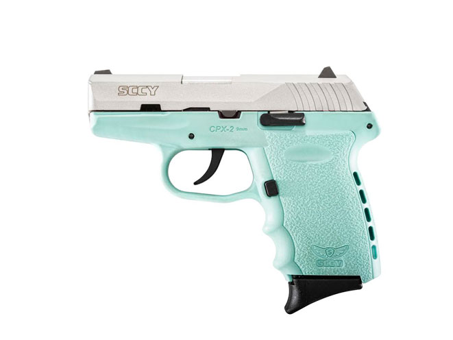 """SCCY Blue"" Frame Pistol, sccy blue, sccy blue, pistol, pistols, sccy"