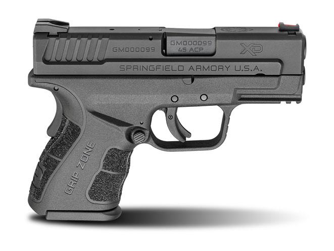 concealed carry, concealed carry handguns, pistols, handguns, boberg xr45-s, springfield xd mod.2, boberg xr45-s pistol, springfield xd mod.2 black