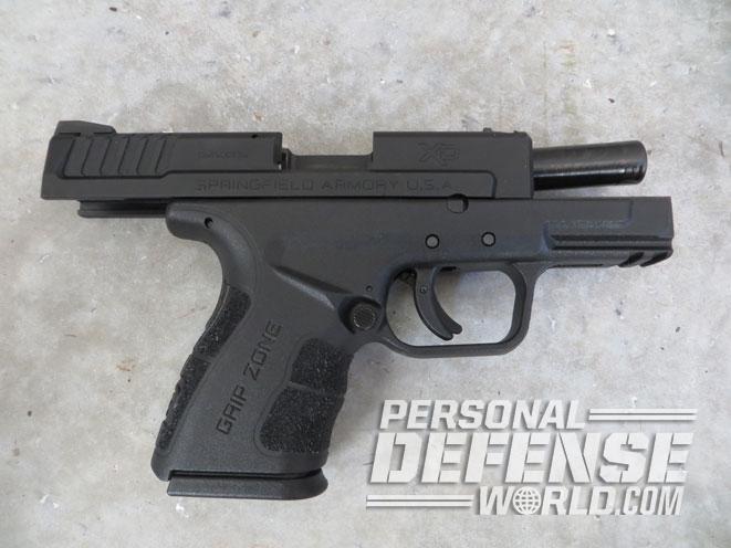 concealed carry, concealed carry handguns, pistols, handguns, boberg xr45-s, springfield xd mod.2, boberg xr45-s pistol, springfield xd mod.2 barrel