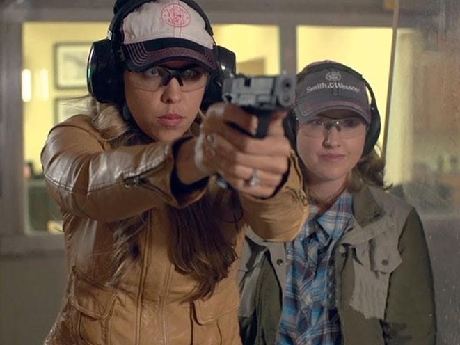 NRA, national rifle association, natalie foster, women on target, NRA women on target, NRA ladies only, NRA female shooting, NRA shooting program, female shooting, shooting gun