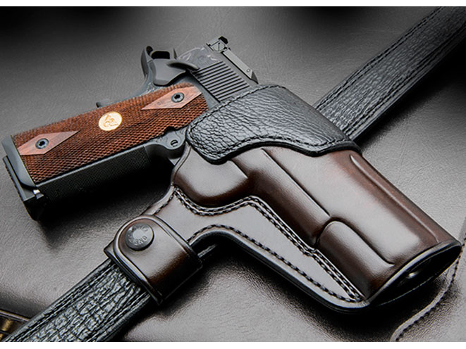 wilson combat, Custom Alliance Deluxe Quick Snap Holster, Quick Snap Holster, wilson combat quick snap holster, belt holster
